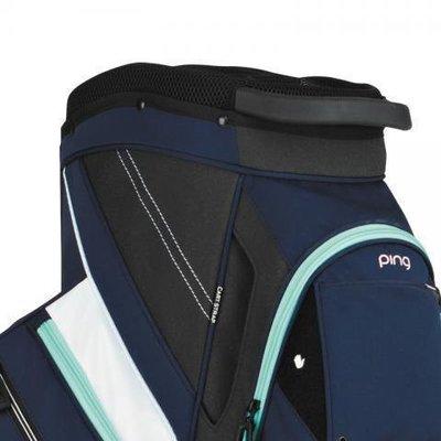 Ping Traverse Navy/White/Mint Cart Bag