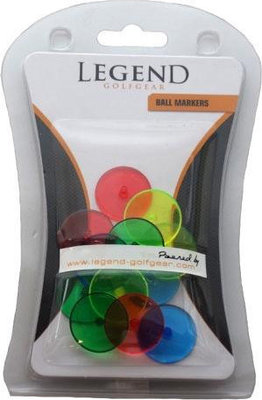 Legend 12 Pcs Neon Ball Marker