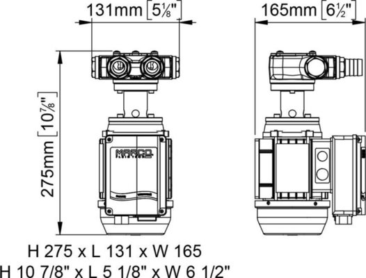 Marco VP45/AC Vane pump 35 l/min