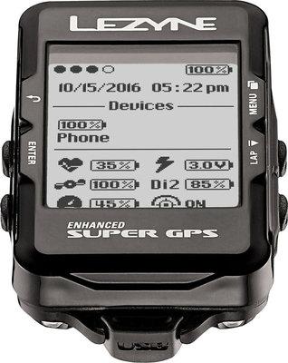 Lezyne Super GPS Black