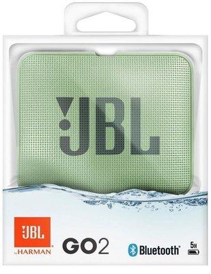 JBL GO 2 Glacier Mint