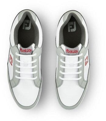 Footjoy Originals Mens Golf Shoes White/Light Grey US 11