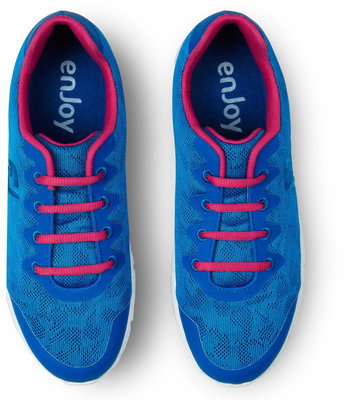 Footjoy Enjoy Womens Golf Shoes Cobalt/Berry US 6