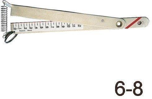 Lindemann Rigg Tensiometer 2,5-4mm