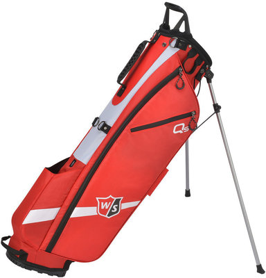 Wilson Staff Quiver Red Stand Bag