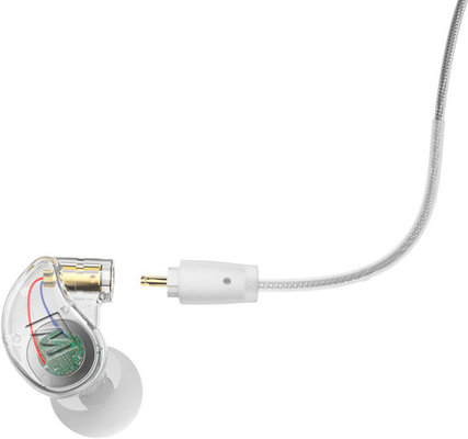 MEE audio M6 Pro 2nd Gen Universal-Fit Musician's In-Ear Monitors Clear