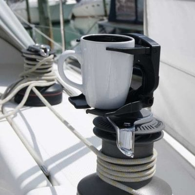 Railblaza Cupclam Black with StarPort