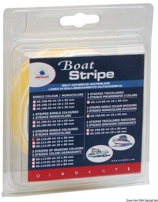Osculati Floatingline 3 stripes modrá 10m x 50mm