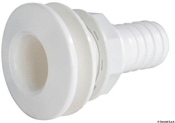 Osculati Plastový vypúšťací otvor biely 1/2ʺ