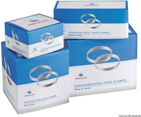 Osculati Eska páska nerez 9 x 16-25mm