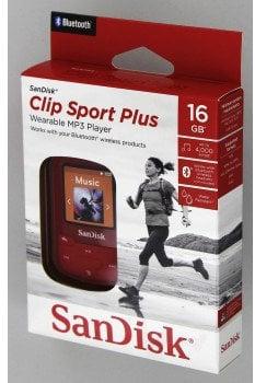 SanDisk Clip Sport Plus Red
