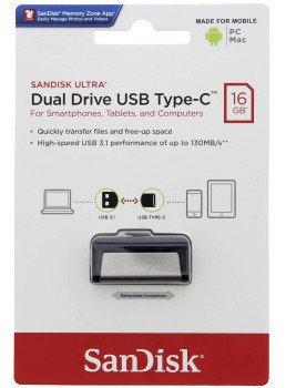 SanDisk Ultra Dual Drive USB Type-C 16 GB