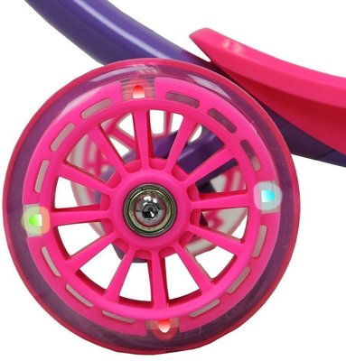 Zycom Scooter Zipster with Light Up Wheels Purple/Pink