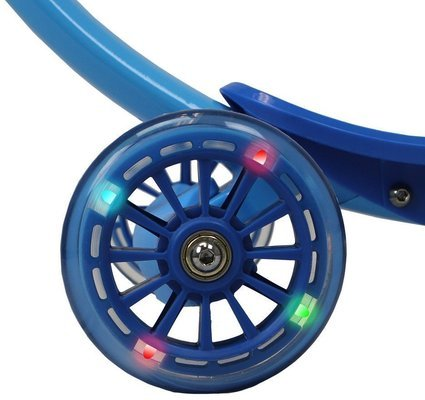 Zycom Scooter Zipster with Light Up Wheels Blue