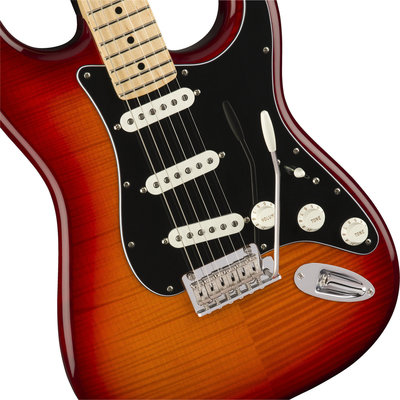Fender Player Series Stratocaster PLS TOP MN Aged Cherry Burst