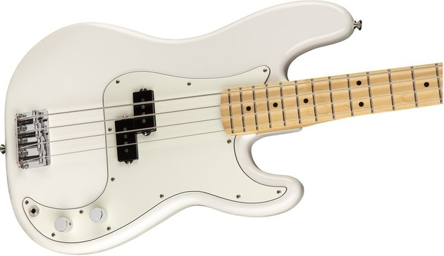 Fender Player Series P Bass MN Polar White