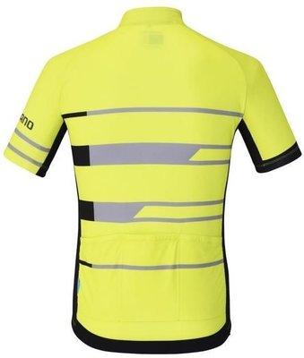 Shimano Team Short Sleeve Jersey Neon Yellow M
