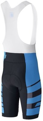 Shimano Team BIB Shorts Blue M