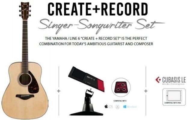 Steinberg Singer Songwriter Set