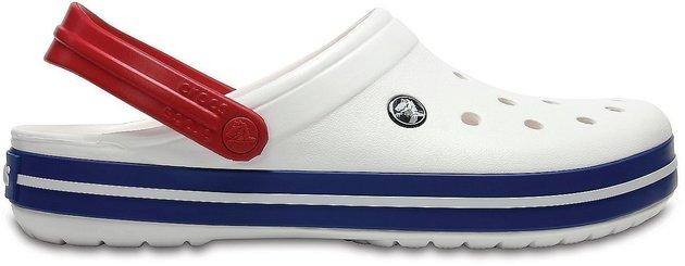 Crocs Crocband Clog White/Blue Jean 45-46