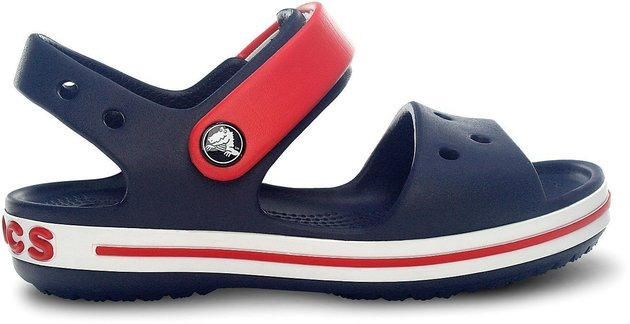 Crocs Crocband Sandal Kids Navy/Red 30-31