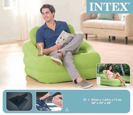 Intex Green Accent Chair
