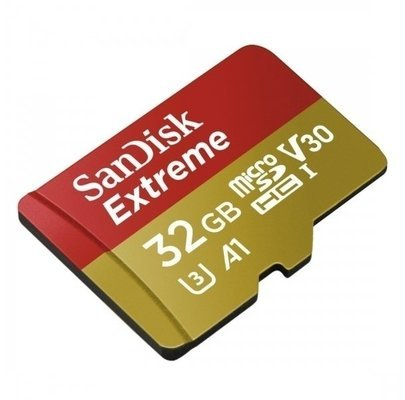SanDisk Extreme micro SDHC 32 GB 100 MB/s A1 Class