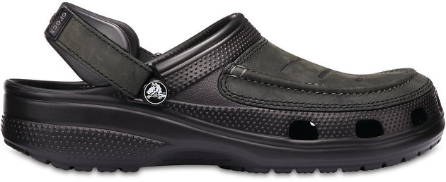 Crocs Men's Yukon Vista Clog Black/Black 45-46