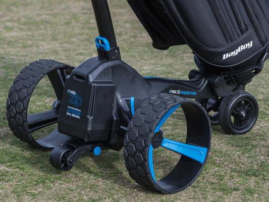 MGI Zip Navigator Black Electric Golf Trolley
