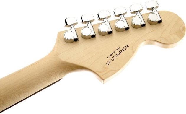 Fender Squier Affinity Series Stratocaster LH Brown Sunburst