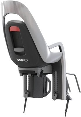 Hamax Caress Grey White with Carrier Adapter