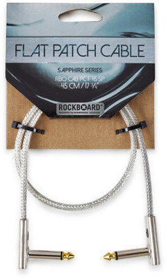 RockBoard Flat Patch Cable - SAPPHIRE Series 45 cm