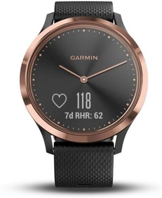 Garmin vívomove HR Sport Black/Rose Gold S/M