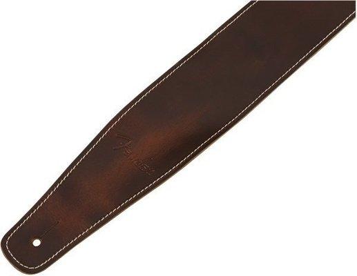 Fender Broken-In Leather Strap Brown 2.5''