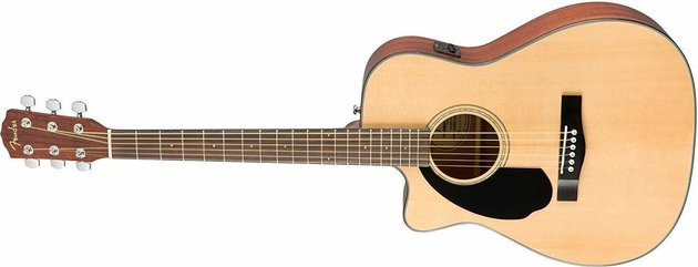 Fender CC-60SCE Concert WN Natural LH