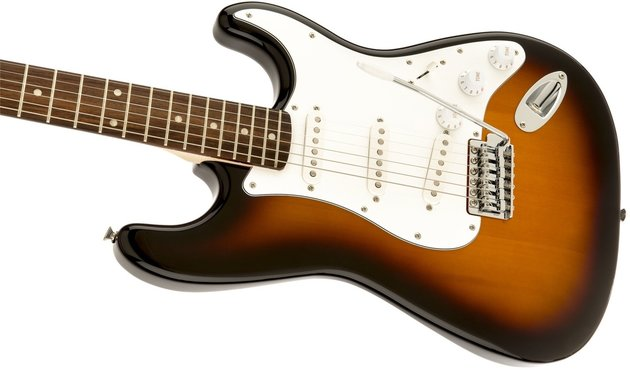 Fender Squier Affinity Series Stratocaster Laurel FB Brown Sunburst
