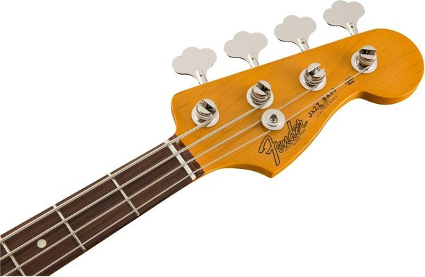 Fender 60´s Jazz Bass Lacquer PF Olympic White