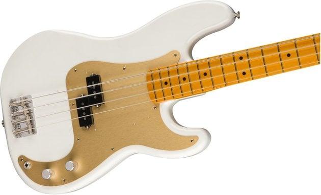 Fender 50s Precision Bass Lacquer Maple FB White Blonde