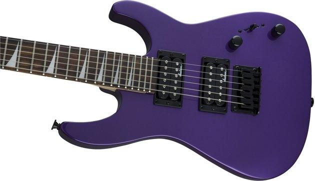 Jackson JS1X Dinky Minion AH FB Pavo Purple