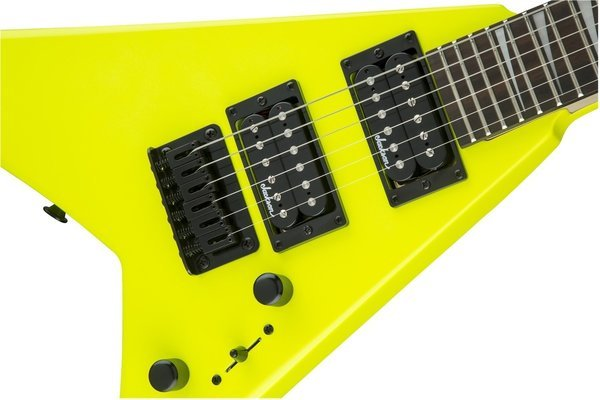 Jackson JS1X Rhoads Minion AH FB Neon Yellow