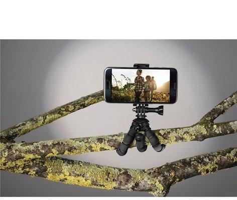 Hama Flex 2in1 Mini-Tripod for Smartphone and GoPro 14 cm
