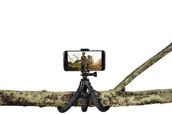 Hama Flex 2in1 Mini-Tripod for Smartphone and GoPro 26 cm