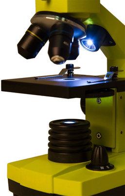 Levenhuk Rainbow 2L PLUS Lime Microscope