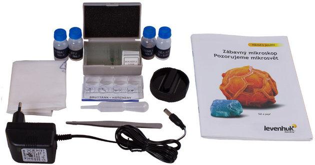 Levenhuk Rainbow 50L PLUS Orange Microscope