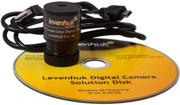 Levenhuk Rainbow D2L 0.3M Digital Microscope, Moonstone