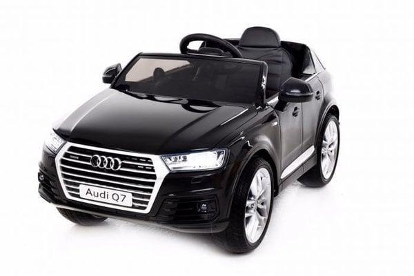 Beneo Electric Ride-On Car Audi Q7 Quattro Black Paint