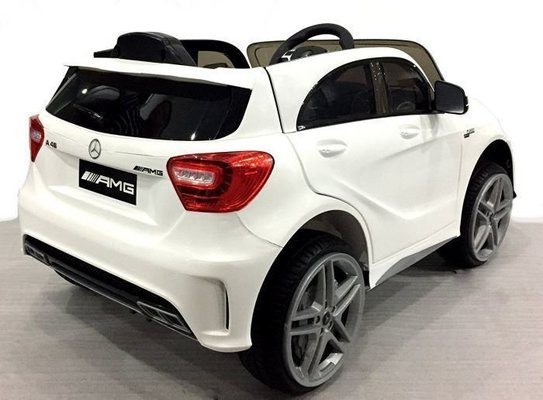 Beneo Electric Ride-On Car Mercedes-Benz A45 AMG White