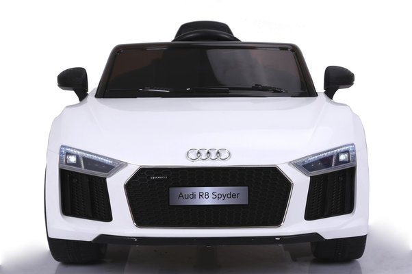 Beneo Electric Ride-On Car Audi R8 Spyder White