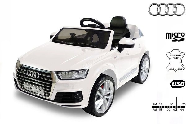 Beneo Electric Ride-On Car Audi Q7 Quattro White