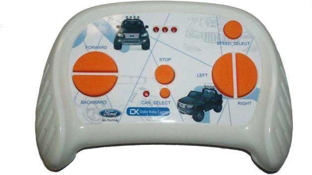 Beneo Electric Ride-On Toy Car Ford Ranger Wildtrak 4X4 White